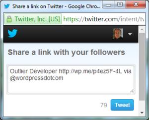 Twitter Share a Link