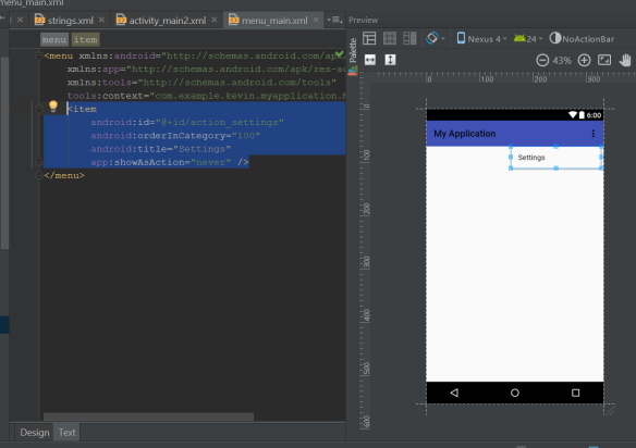 Building Apps With Android Studio: Adding Activities